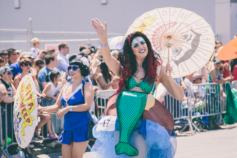 MERMAID PARADE 2014 CONEY ISLAND DO NOT USE WITHOUT WRITTEN PERMISSION copyright paulinefashionblog.com  7 ♥ Mermaid Parade 2014, Coney Island