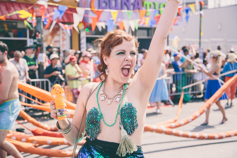 MERMAID PARADE 2014 CONEY ISLAND DO NOT USE WITHOUT WRITTEN PERMISSION copyright paulinefashionblog.com  81 ♥ Mermaid Parade 2014, Coney Island