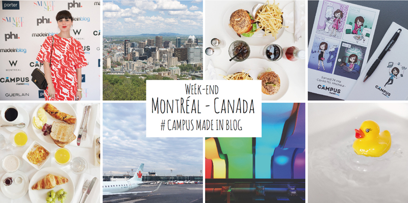 Week end montreal campus made in blog paulinefashionblog2 Montréal