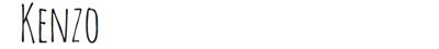 etiquette kenzo PFW FW14 Diary : suite et fin... ENFIN !