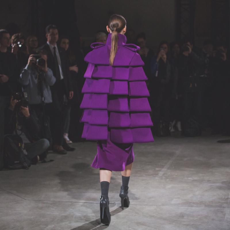 paris fashion week jean charles de castelbajac jcdc show defile ah14 fw14 copyright paulinefashionblog.com  15 PFW FW14 Diary : suite et fin... ENFIN !