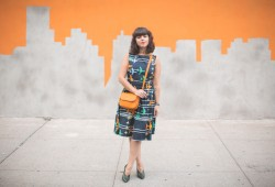 robe avion tara jarmon sac bag preston fossil skyline graffiti nyc - copyright paulinefashionblog.com_-11