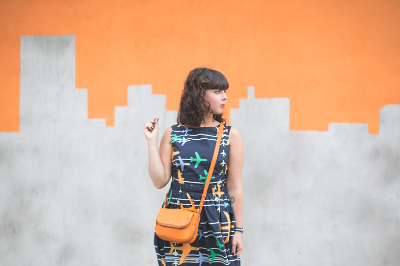 robe avion tara jarmon sac bag preston fossil skyline graffiti nyc - copyright paulinefashionblog.com_-4