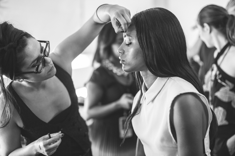 backstage HERVE LEGER Lincoln Center NYFW fashion week SS15 PE15 - copyright paulinefashionblog.com_-4