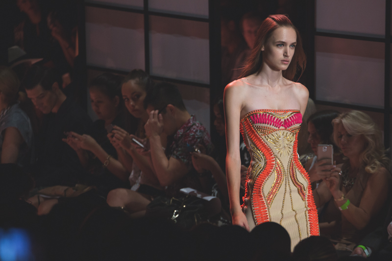 show new york HERVE LEGER Lincoln Center NYFW fashion week SS15 PE15 - copyright paulinefashionblog.com_-13