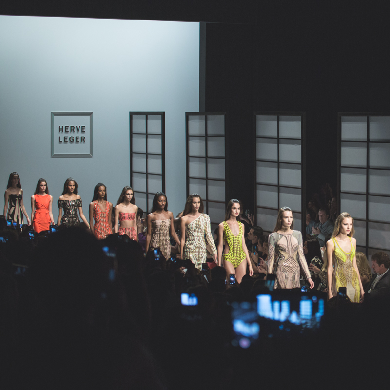 show new york HERVE LEGER Lincoln Center NYFW fashion week SS15 PE15 - copyright paulinefashionblog.com_-14