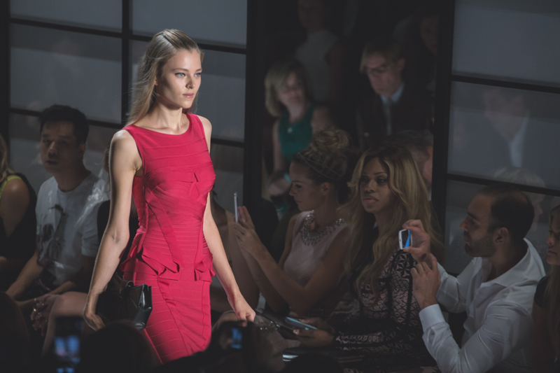 show new york HERVE LEGER Lincoln Center NYFW fashion week SS15 PE15 - copyright paulinefashionblog.com_