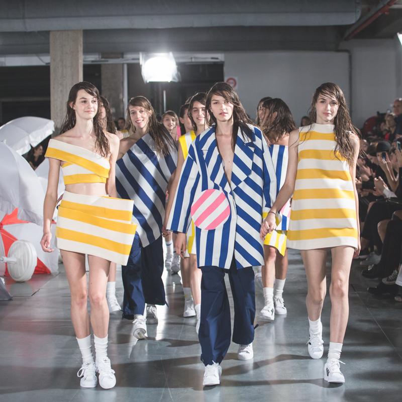 simon jacquemus collection les parasols de marseille ete spring summer 15 2015 show paris fashion week - copyright paulinefashionblog.com_-14