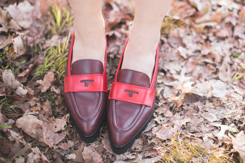 tommy hilfiger collection loafers pointed - copyright paulinefashionblog.com_