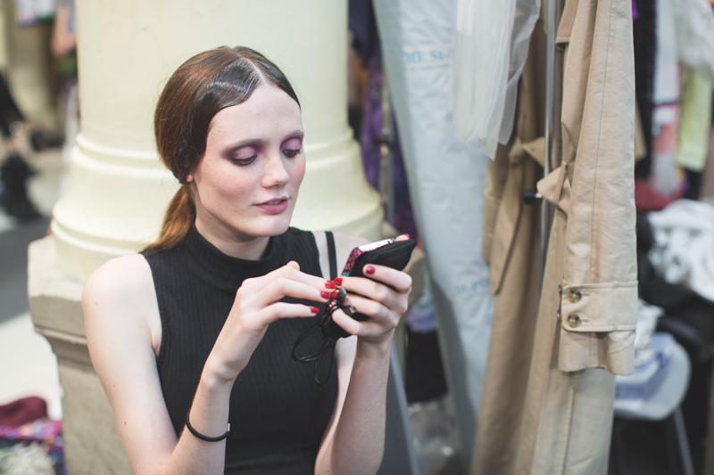 tsumori chisato backstage paris fashion week - copyright paulinefashionblog.com_-10