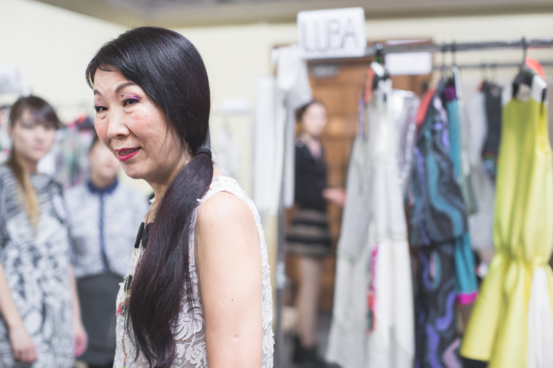 tsumori chisato backstage paris fashion week - copyright paulinefashionblog.com_-12