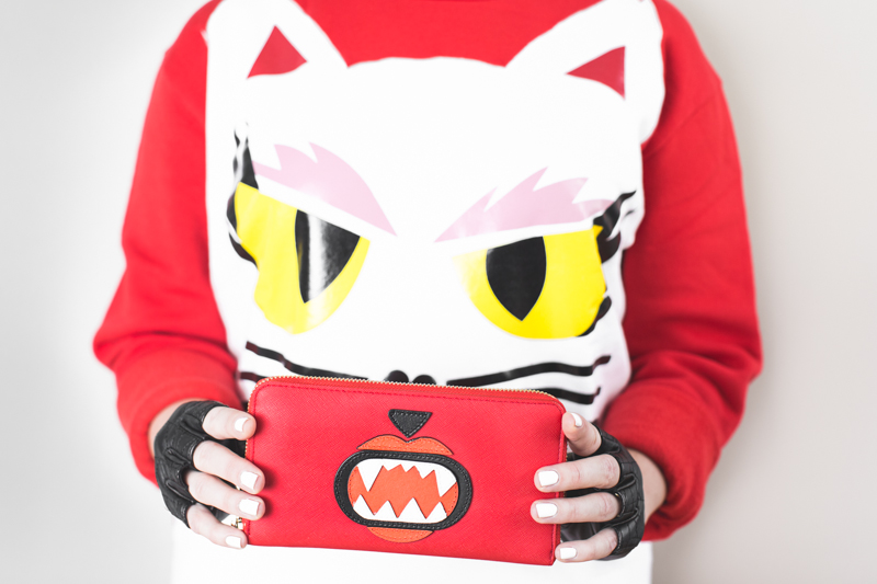 KARL LAGERFELD x Monster Choupette sweatshirt wallet copyright paulinefashionblog.com  3 Concours de Noël #5   KARL LAGERFELD & MONSTER CHOUPETTE