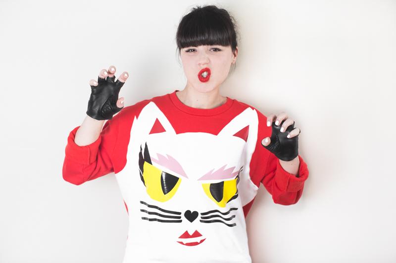 KARL LAGERFELD x Monster Choupette sweatshirt wallet - copyright paulinefashionblog.com_-5
