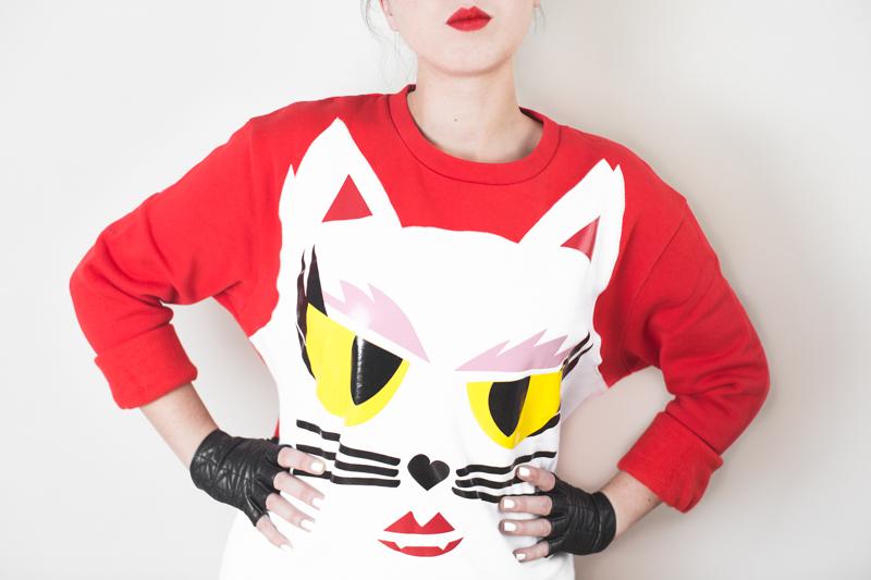KARL LAGERFELD x Monster Choupette sweatshirt wallet - copyright paulinefashionblog.com_-7
