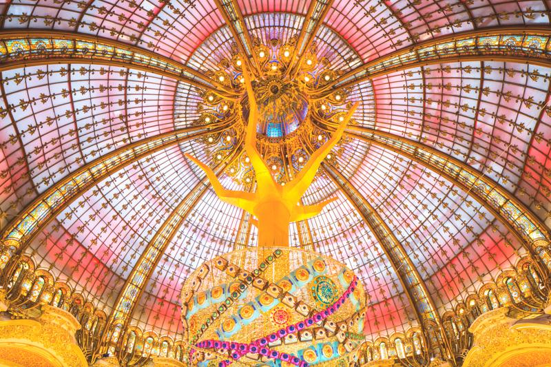 galeries lafayette concours airbnb copyright paulinefashionblog.com  2 Une nuit insolite aux Galeries Lafayette avec Airbnb !
