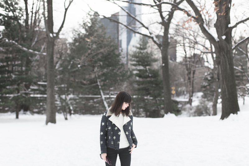 LOOK fashion blogger new york city ootd gertrude copyright paulinefashionblog.com  13 Snow Storm