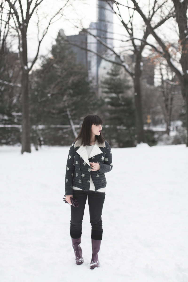 LOOK fashion blogger new york city ootd gertrude copyright paulinefashionblog.com  4 Snow Storm
