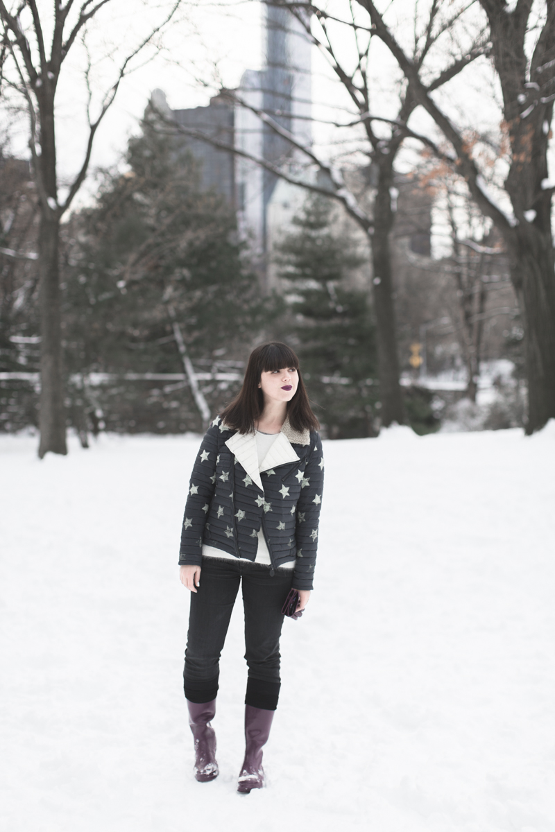 LOOK fashion blogger new york city ootd gertrude copyright paulinefashionblog.com  5 Snow Storm