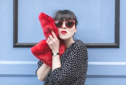 LOOK stories by kelly osbourne ootd story of lola faux fur - copyright paulinefashionblog.com_-3