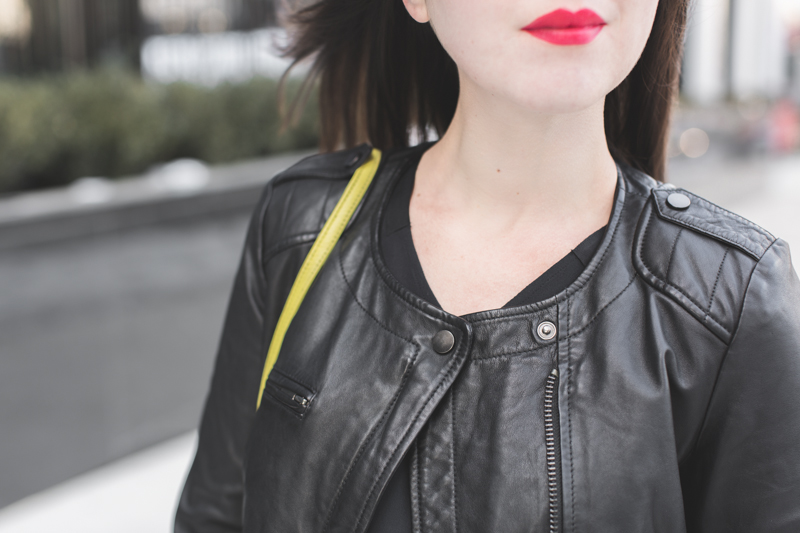 Blouson cuir comptoir des cotonniers 2015 conception - Veste en cuir comptoir des cotonniers ...