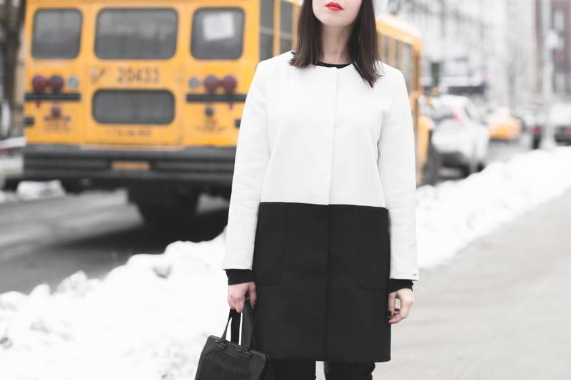 look tommy hilfiger NYFW copyright paulinefashionblog.com  3 Black & White