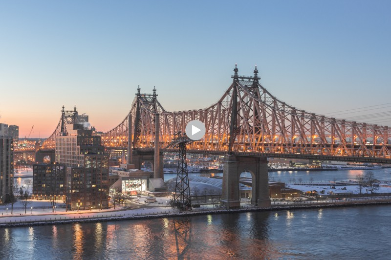queensboro bridge timelapse - copyright paulinefashionblog.com_