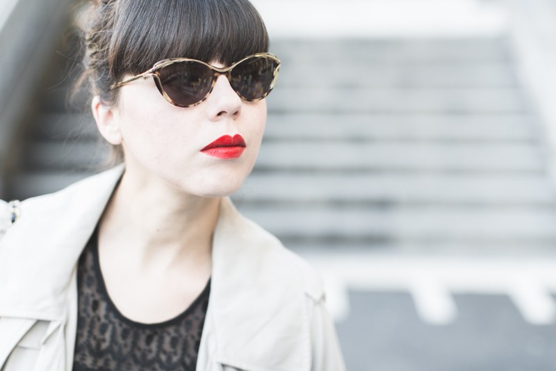 jooly x pauline lunettes trench showroomprive must have copyright paulinefashionblog.com  9 800x533 Le Trench #1
