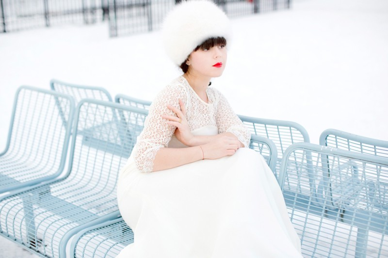 photomariage hiver neige celine marks pauline blogueuse blogger wedding copyright paulinefashionblog.com  12 800x533 Snow Bride II