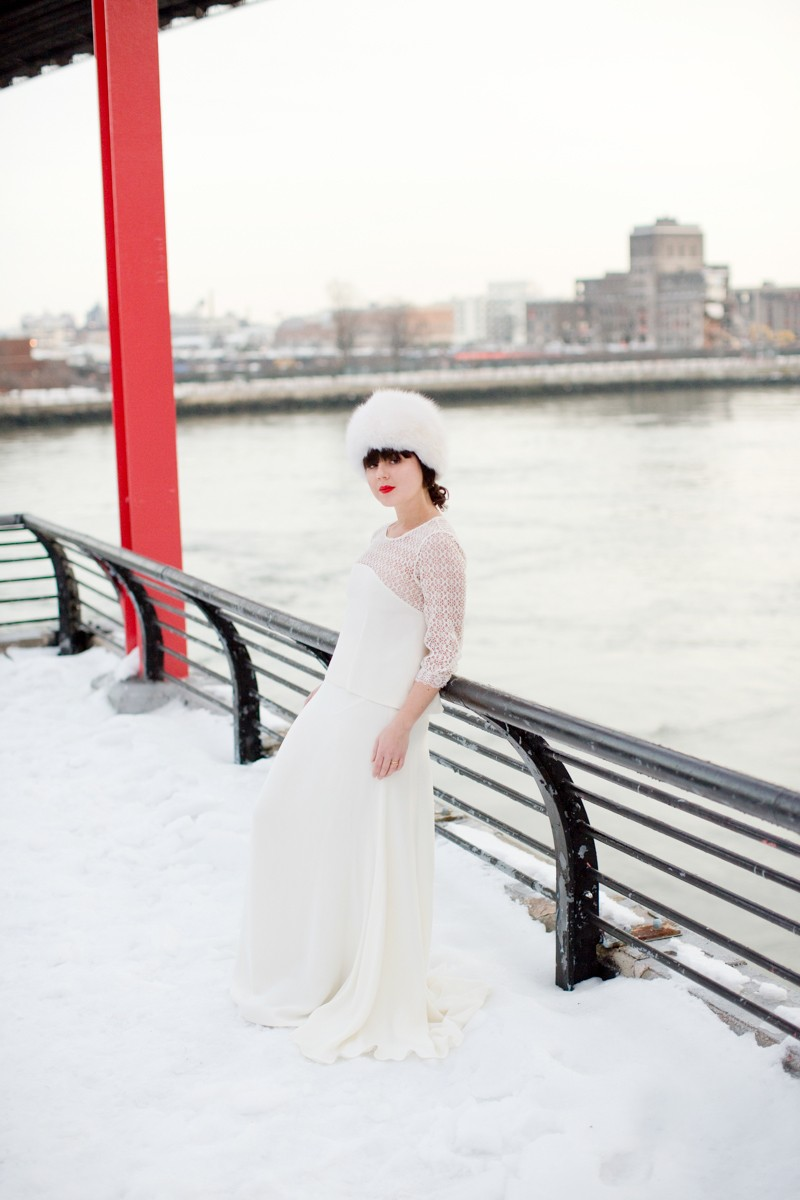 photomariage hiver neige celine marks pauline blogueuse blogger wedding copyright paulinefashionblog.com  2 800x1200 Snow Bride II
