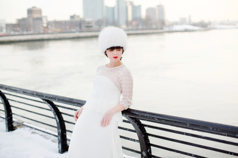 photomariage hiver neige celine marks pauline blogueuse blogger wedding copyright paulinefashionblog.com  6 800x533 Snow Bride II