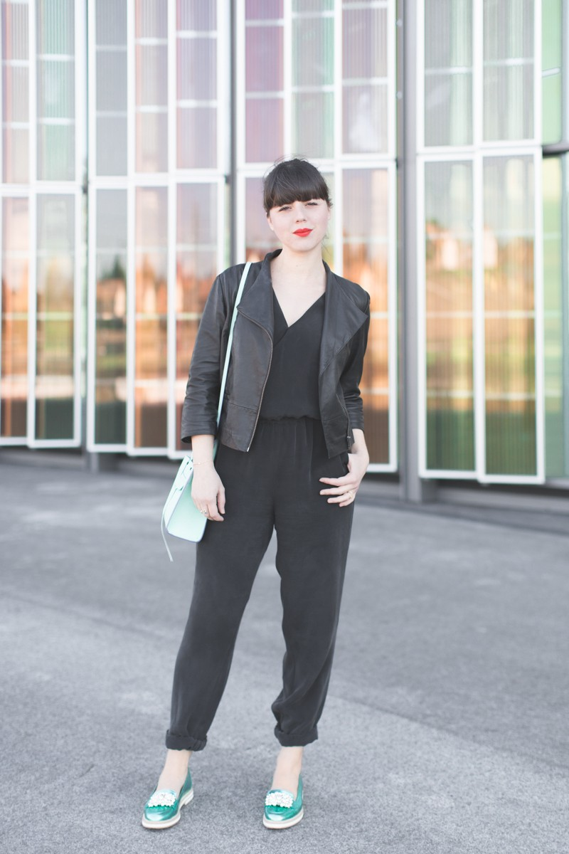 rebecca minkoff jumpsuit gordana dimitrijevic shoes copyright paulinefashionblog.com  800x1200 Moody