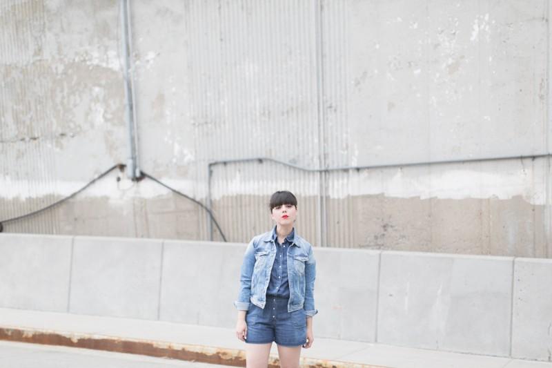 blog pepe jeans london total look demin blouson combishort jean copyright paulinefashionblog.com  4 800x533 Blue Jeans