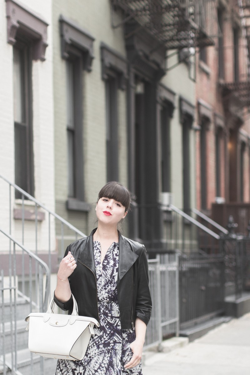 look robe louizon longchamp pliage heritage stan smith copyright paulinefashionblog.com  6 800x1200 York & 67th street
