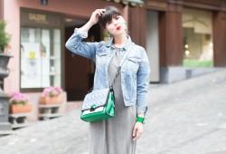 shourouk karl lagerfeld kuilted bag vert bleu pepe jeans iro revolve clothing - credit PAULINE PRIVEZ -PAULINEFASHIONBLOG.COM-
