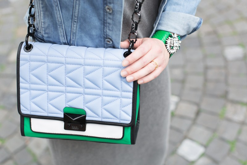 shourouk karl lagerfeld kuilted bag vert bleu pepe jeans iro revolve clothing credit PAULINE PRIVEZ PAULINEFASHIONBLOG.COM 2503 2 800x533 Green Stuff