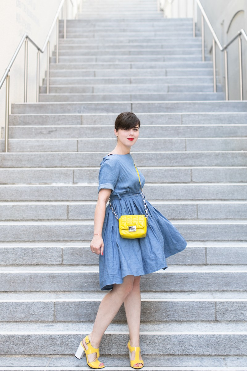 team citron wear lemonade lisa makemylemonade robe frida chambray - photo PAULINEFASHIONBLOG.COM--2