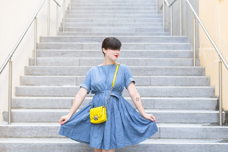 team citron wear lemonade lisa makemylemonade robe frida chambray - photo PAULINEFASHIONBLOG.COM-2