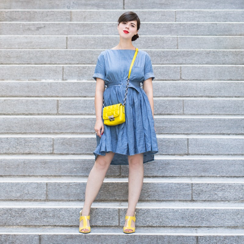 team citron wear lemonade lisa makemylemonade robe frida chambray - photo PAULINEFASHIONBLOG.COM--4
