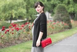 vans disney robe iro grossesse tenue look 2ème trimestre - copyright paulinefashionblog.com--5