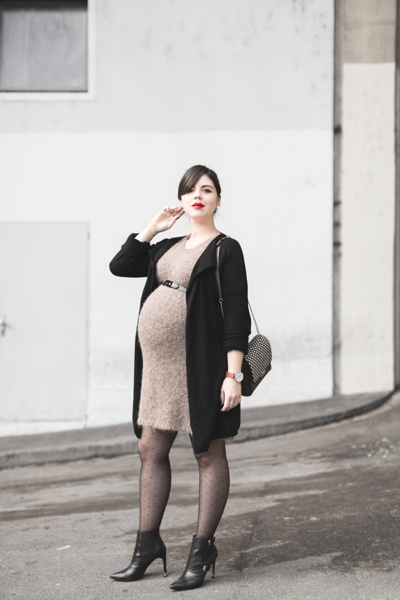 look maevy g.alaix christian paul watch plumetis envie de fraises pregnant fashion mode femme enceinte photo credit paulinefashionblog.com 2 800x1200 Le dernier look de lannée...