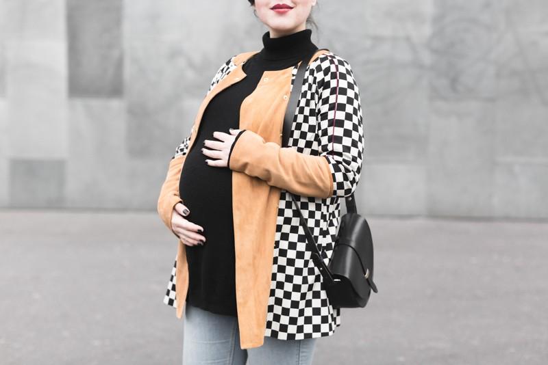 look femme enceinte blogueuse heimstone veste charleston sezane claude - copyright Pauline paulinefashionblog.com-8
