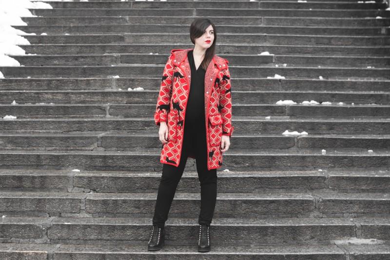 look grossesse envie de fraise manteau m missoni missta shoes - copyright Pauline paulinefashionblog.com-4