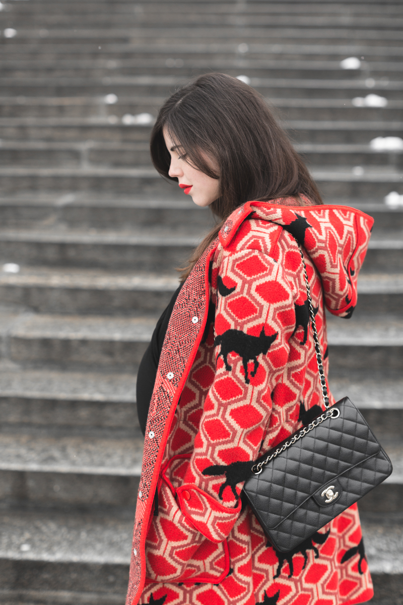 le gros chaperon rouge mode femme enceinte manteau m missoni. Black Bedroom Furniture Sets. Home Design Ideas