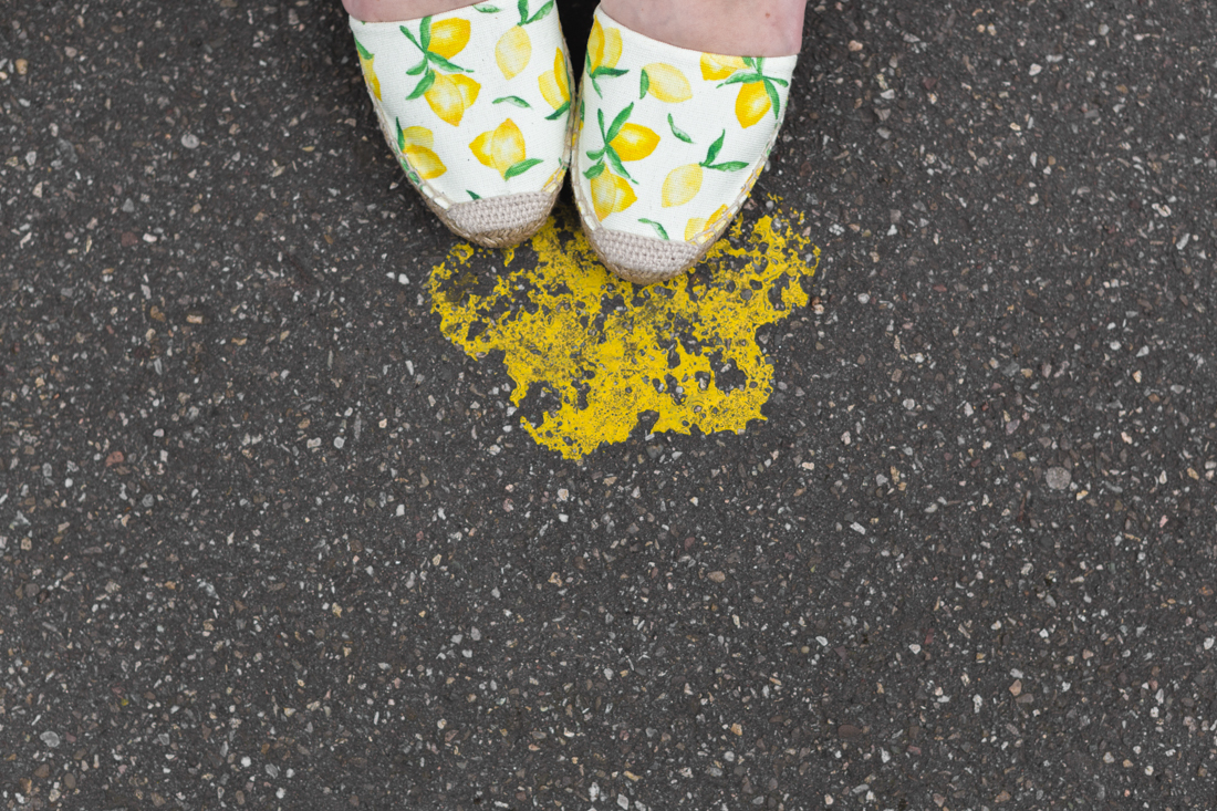 1100 chemise espadrilles imprime citrons sezane - copyright Pauline paulinefashionblog.com-5
