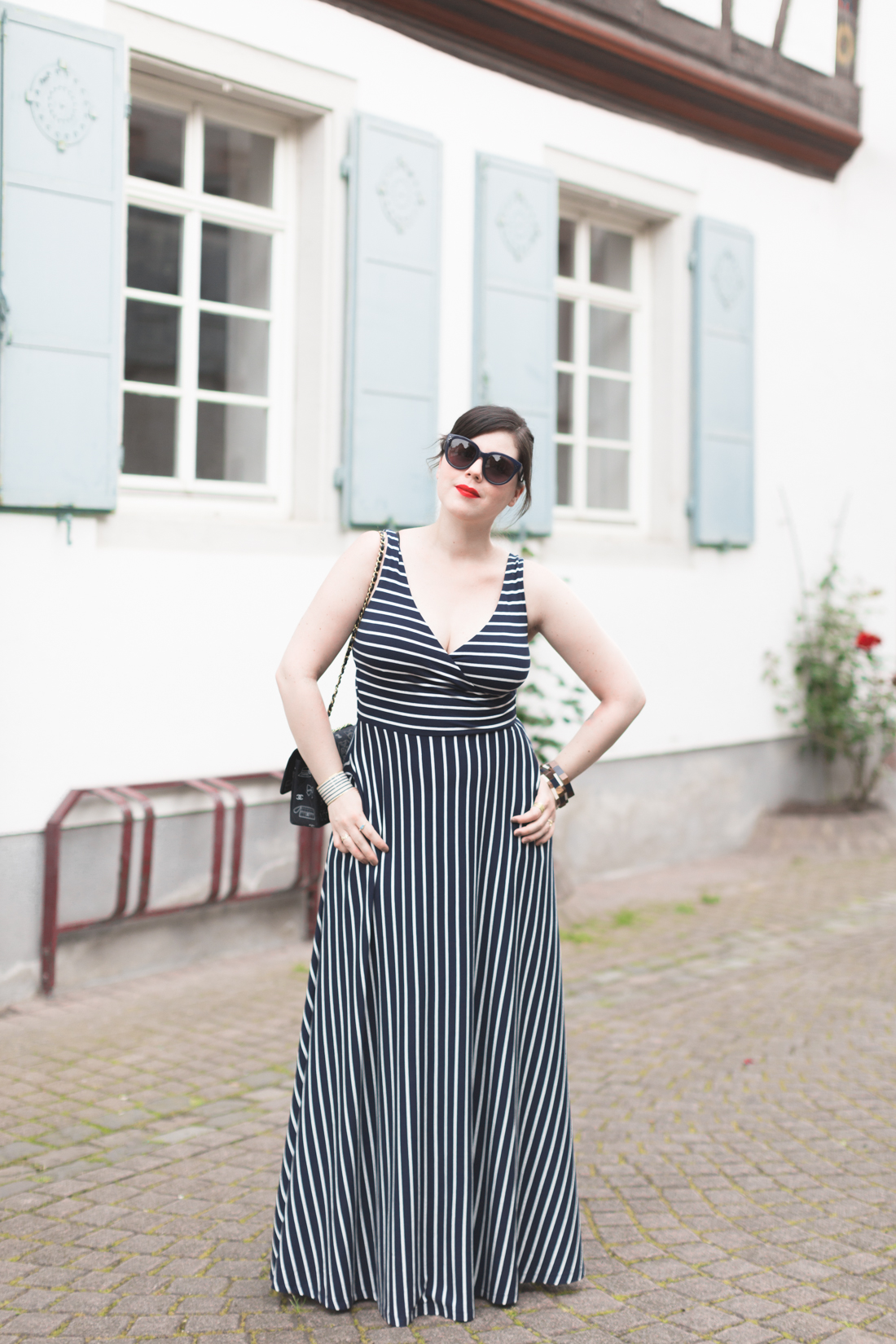 1100 robe mariniere stripe dress boden - copyright Pauline paulinefashionblog.com-6