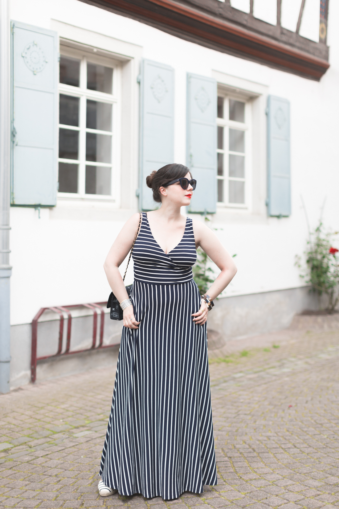1100 robe mariniere stripe dress boden - copyright Pauline paulinefashionblog.com-7