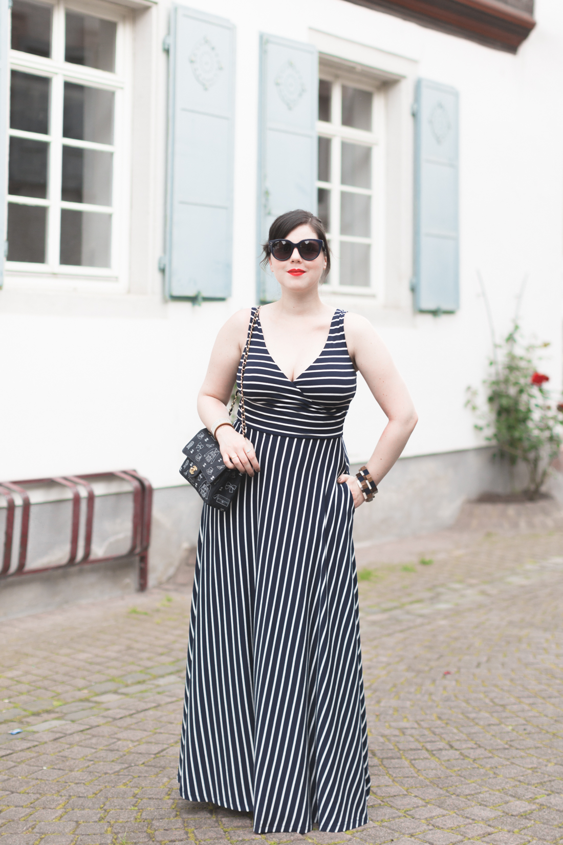 1100 robe mariniere stripe dress boden - copyright Pauline paulinefashionblog.com-8