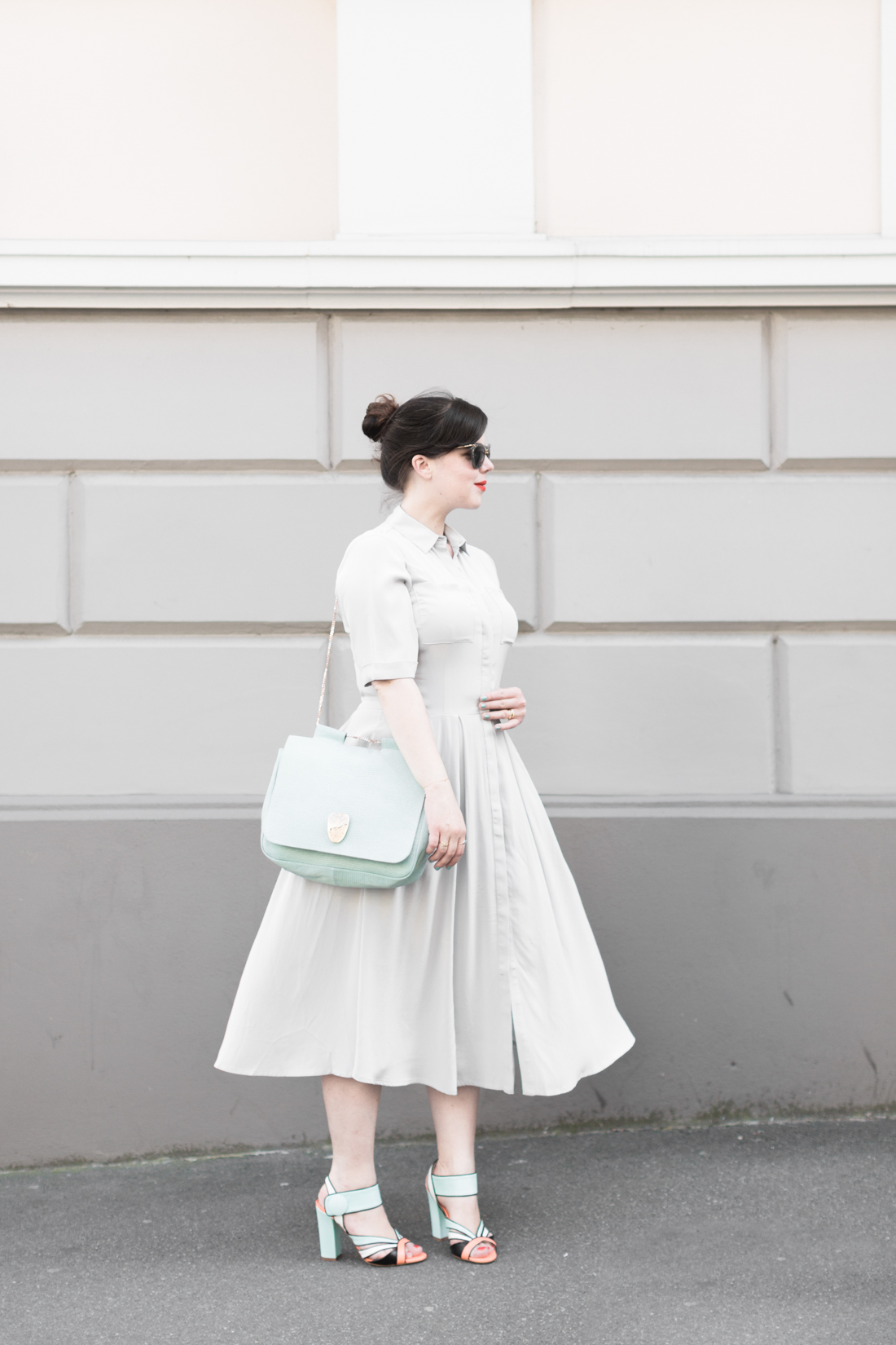 1100 mint cosmoparis rose et josephine sac robe ybd kelly love copyright photos Pauline paulinefashionblog.com 2 Mint