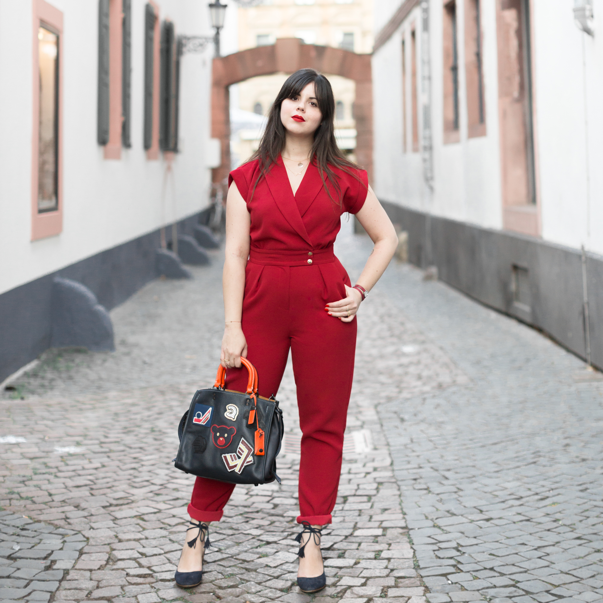 varsity-rogue-bag-coach-new-york-red-jumpsuit-valentina-sezane-marine-copyright-pauline-paulinefashionblog-com-1-3