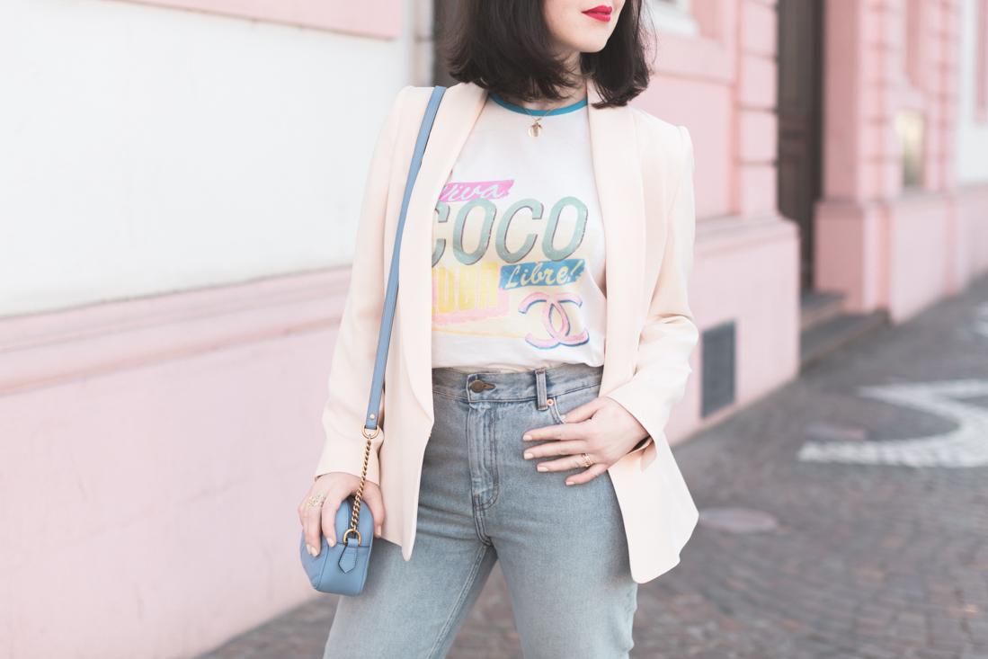 t shirt chanel coco libre viva cuba croisiere gucci marmont sezane copyright Pauline Privez paulinefashionblog com 8 Viva Coco Libre !